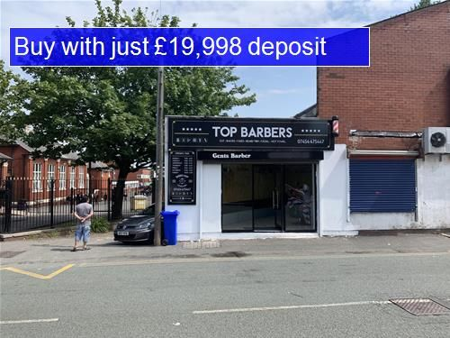 Retail premises for sale in Plodder Lane, Farnworth, Bolton