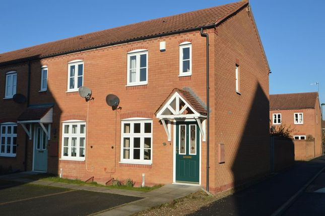 Thumbnail Town house to rent in 14 Iron Way, Breme Park, Aston Fields, Bromsgrove, Worcestershire