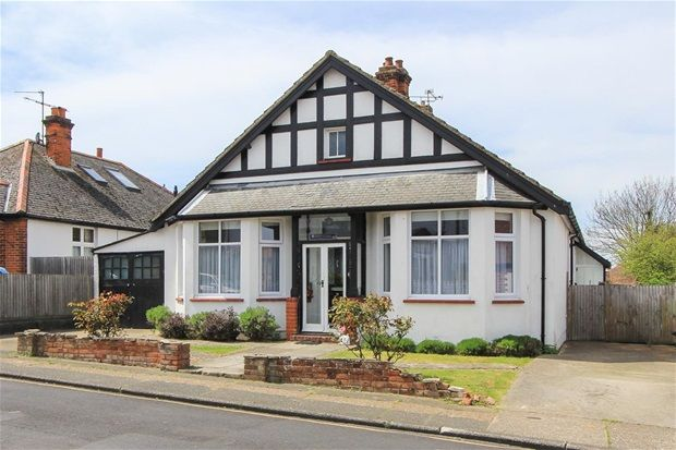 Thumbnail Detached bungalow for sale in Fitzroy Road, Tankerton, Whitstable