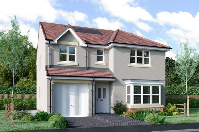 "Thumbnail Detached house for sale in ""Fletcher"" at Murieston Road, Murieston, Livingston"