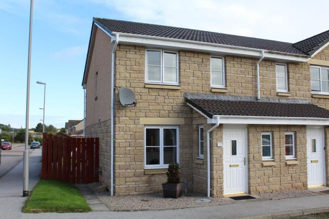Thumbnail Terraced house to rent in Portsoy Crescent, Ellon