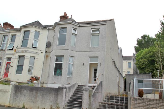 Thumbnail End terrace house for sale in Beaumont Road, Plymouth