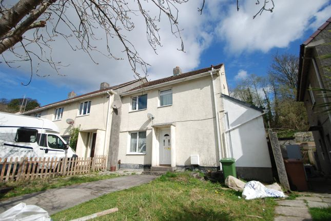 Thumbnail End terrace house for sale in Pike Road, Laira, Plymouth