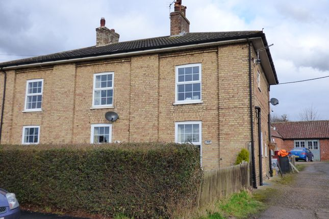 Thumbnail End terrace house to rent in Old School House, Kirmington