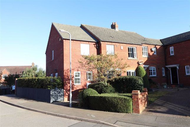 Thumbnail Semi-detached house for sale in Old Forge Drive, West Haddon, Northampton
