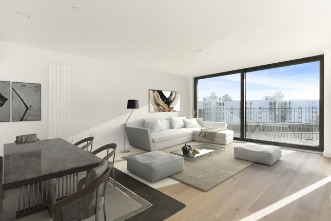 Thumbnail Flat to rent in 14 Rope Terrace, London