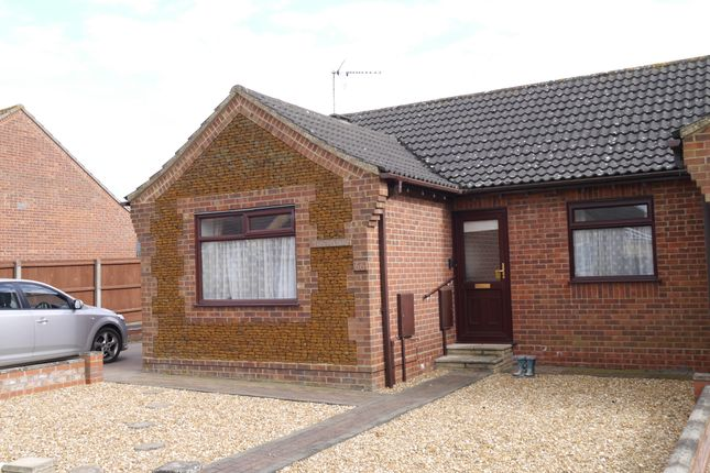 Thumbnail Semi-detached bungalow for sale in Richmond Road, Downham Market