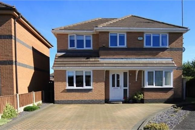 Thumbnail Detached house for sale in Burns Close, Childwall, Liverpool, Merseyside