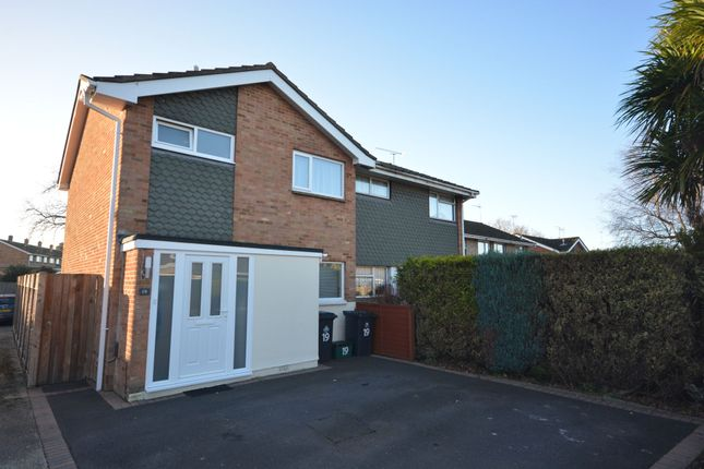 Thumbnail Semi-detached house for sale in Redwood Road, Upton, Poole