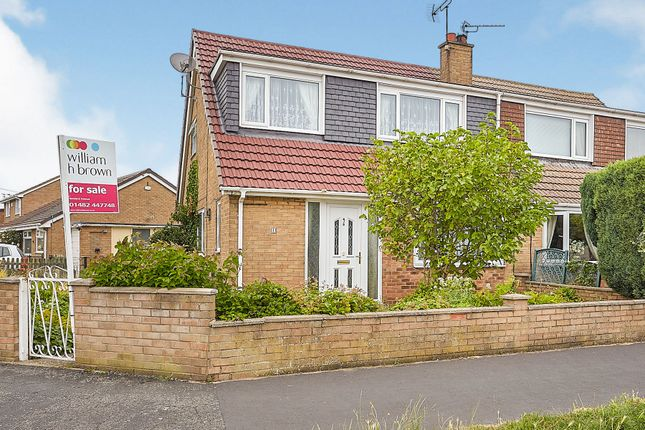 Thumbnail Semi-detached house for sale in Wadsworth Avenue, Hull