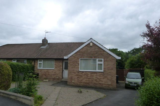 Thumbnail Bungalow to rent in Hollins Close, Hampsthwaite