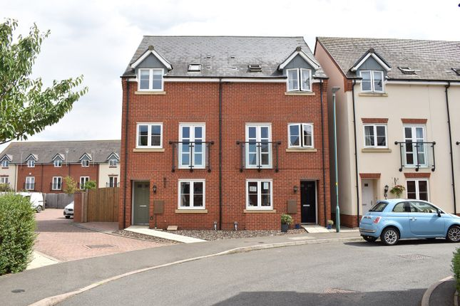 Thumbnail Town house for sale in Webbs Way, Tewkesbury