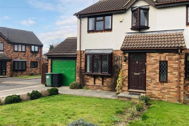 Thumbnail Semi-detached house to rent in The Moorlands, Wetherby