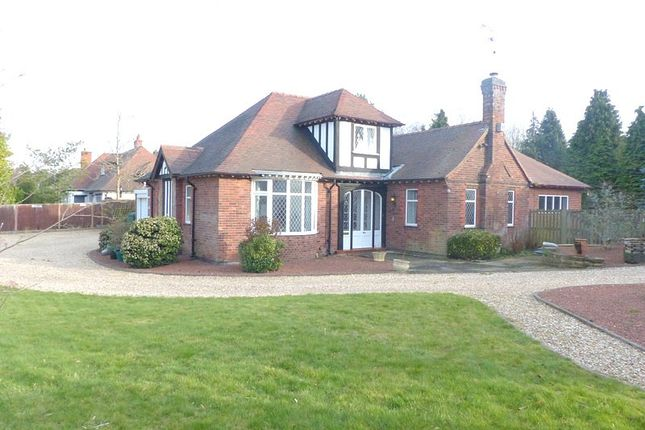 Thumbnail Bungalow to rent in Roebuck Drive, Mansfield, Nottinghamshire