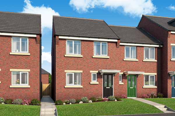 "Thumbnail Property for sale in ""The Ashby At Derwent Heights, Dunston"" at Ravensworth Road, Dunston, Gateshead"