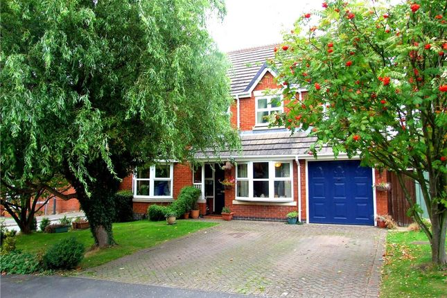 Thumbnail Detached house for sale in Lens Road, Allestree, Derby