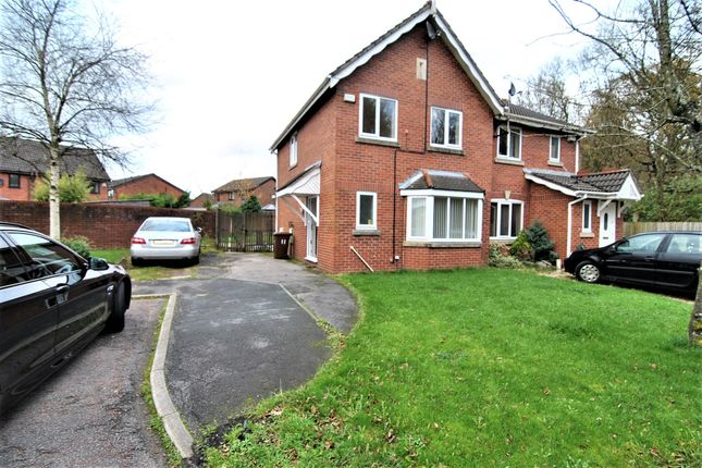 Thumbnail Semi-detached house to rent in Yew Tree Close, Eaves Green, Chorley