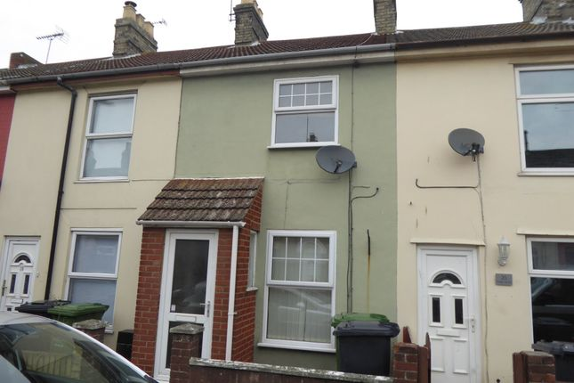 Thumbnail Terraced house to rent in Trafalgar Road East, Gorleston, Great Yarmouth