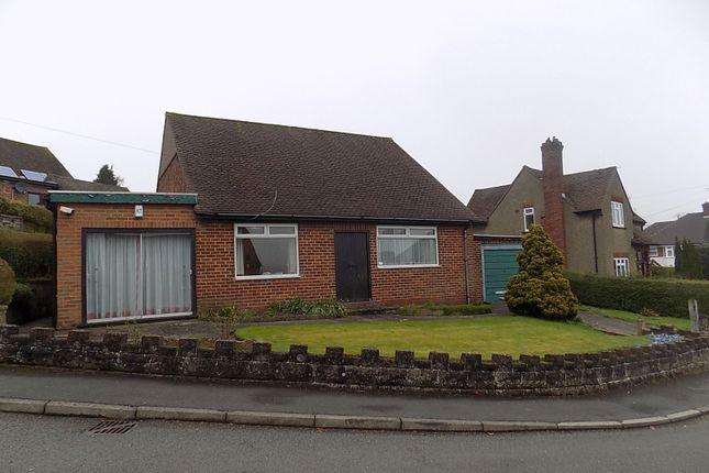 Thumbnail Detached bungalow for sale in Hillside Avenue, Ashbourne Derbyshire