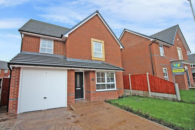 Thumbnail Detached house for sale in Fisher Drive, Heywood