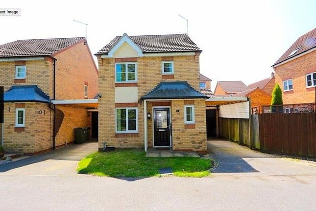 Thumbnail Detached house to rent in Field Close, Thorpe Astley