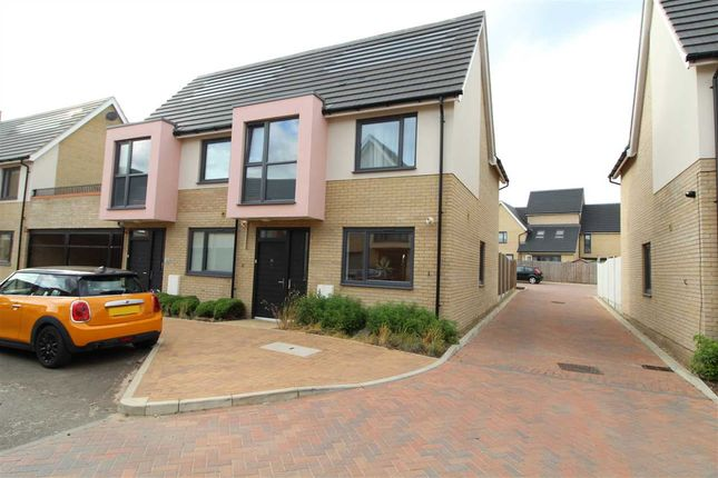 Thumbnail Semi-detached house for sale in Endeavour Way, Colchester