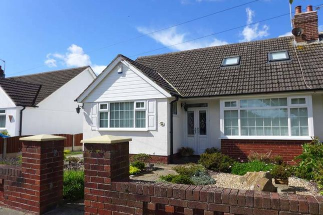 Thumbnail Semi-detached bungalow for sale in Linden Avenue, Thornton-Cleveleys