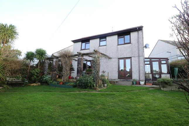 Thumbnail Detached house for sale in Mount Pleasure, Beacon, Camborne