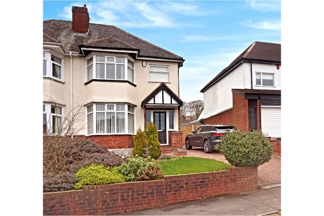 Thumbnail Semi-detached house for sale in Wilson Road, Oldbury