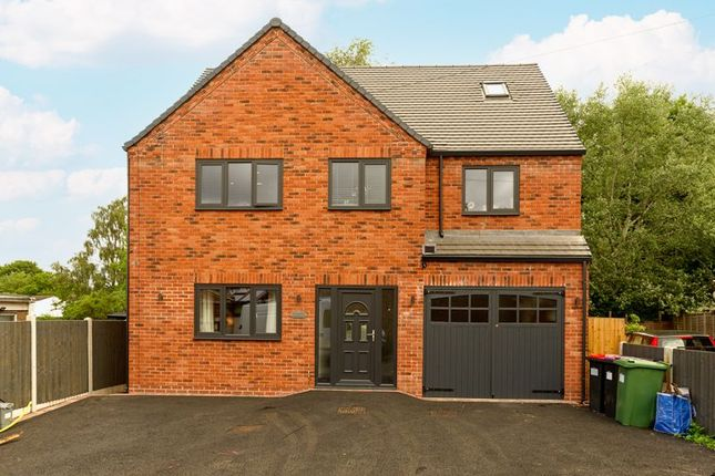 Thumbnail Detached house for sale in Park Lane, Madeley, Telford