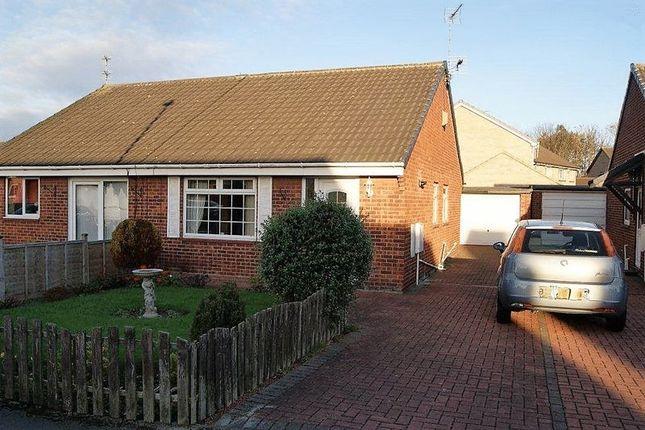 Thumbnail Semi-detached bungalow for sale in Kirklands, Burradon, Cramlington