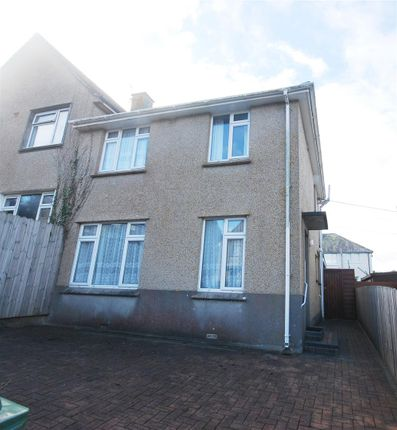 Semi-detached house for sale in Lower Peverell Road, Penzance