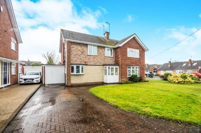Thumbnail Semi-detached house for sale in Woodside Way, Woodlands Estate, Willenhall, West Midlands