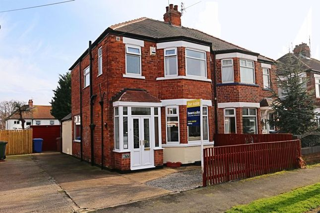 Thumbnail Semi-detached house for sale in Bernadette Avenue, Anlaby Common, Hull