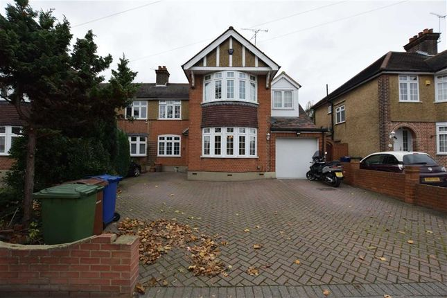 Thumbnail Semi-detached house for sale in Ward Avenue, Grays, Essex