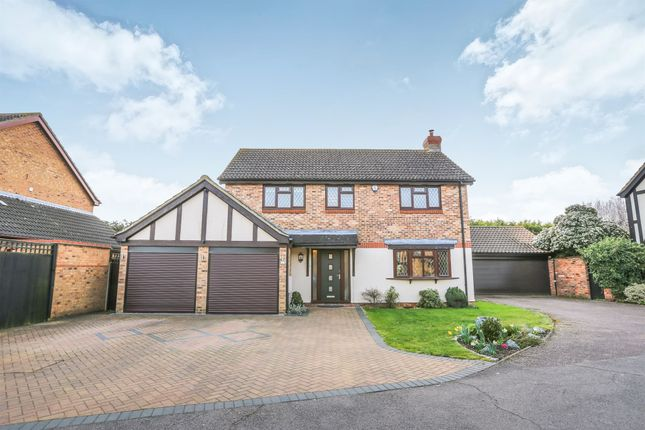 Thumbnail Detached house for sale in Cryselco Close, Kempston, Bedford