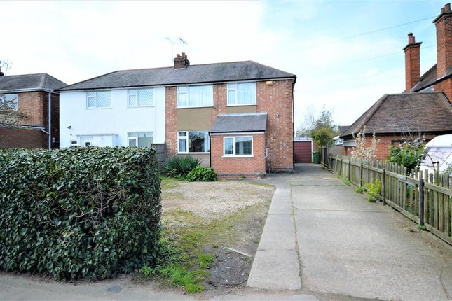 Thumbnail Semi-detached house for sale in Winchester Road, Blaby, Leicester