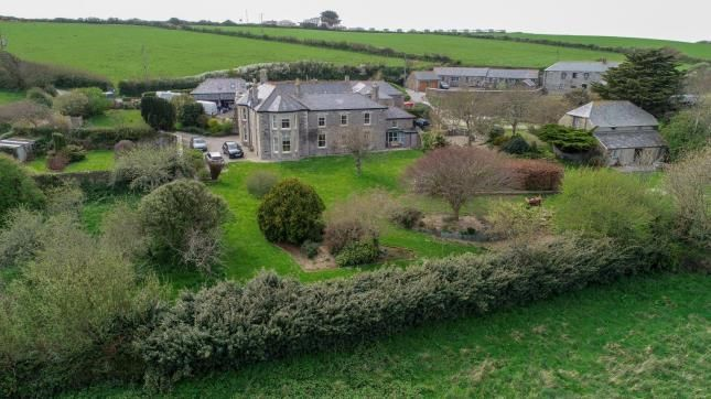 Thumbnail Detached house for sale in Crantock, Newquay, Cornwall