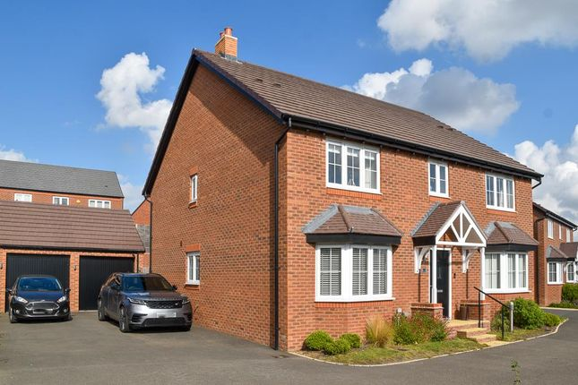 Thumbnail Detached house for sale in Tandy Gardens, Warwick