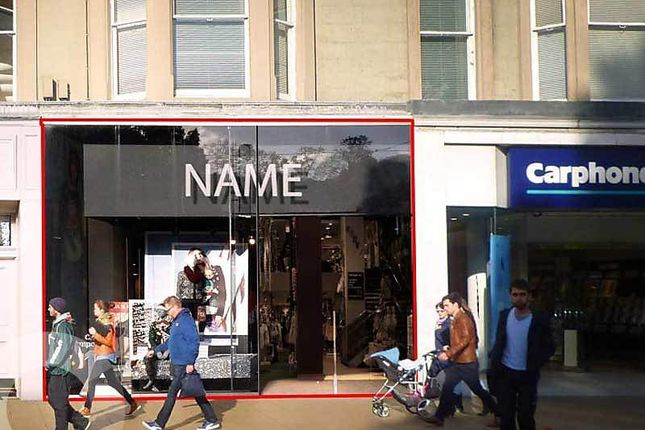 Thumbnail Retail premises to let in Princes Street, New Town, Edinburgh