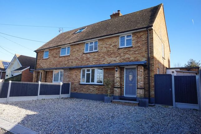 Thumbnail Semi-detached house for sale in Borrowdale Road, Benfleet