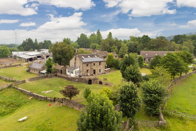 Thumbnail Farmhouse for sale in Woodseats Farmhouse, Woodseats Lane, Charlesworth, Glossop, Derbyshire