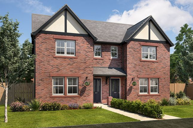 """Thumbnail Semi-detached house for sale in """"Hastings"""" at Goodwood Drive, Carlisle"""