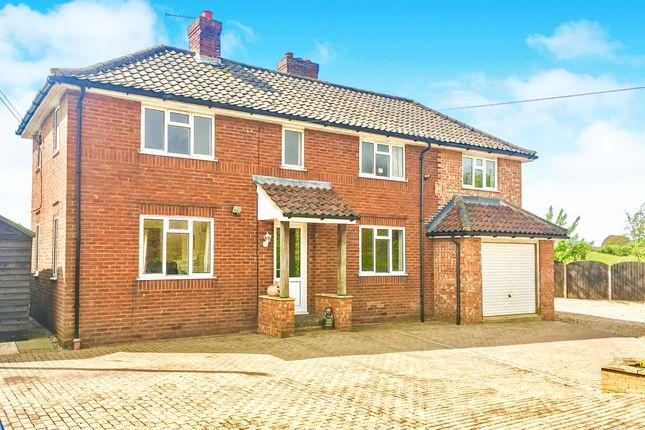 Thumbnail Detached house for sale in Back Lane, North Elmham, Dereham