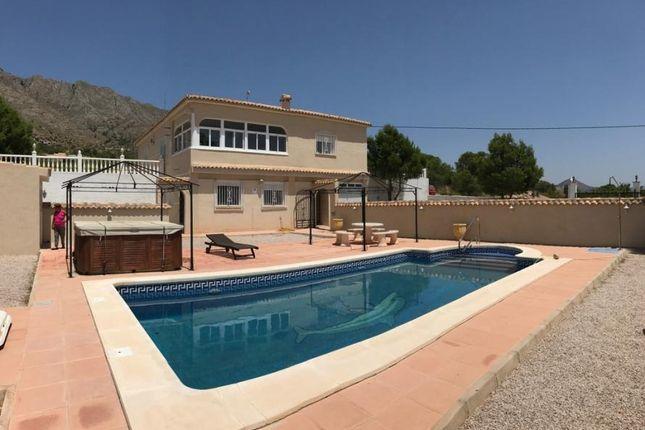 4 bed villa for sale in Abanilla, Alicante, Spain