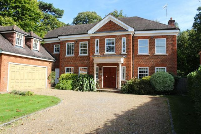Thumbnail Detached house to rent in Woodside Road, Cobham