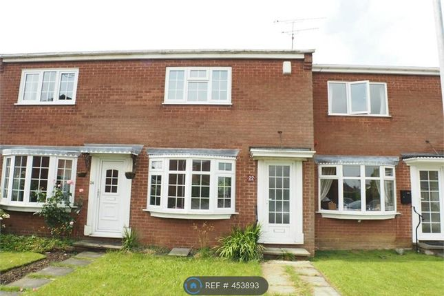 Thumbnail Terraced house to rent in Rutland Close, Warsop