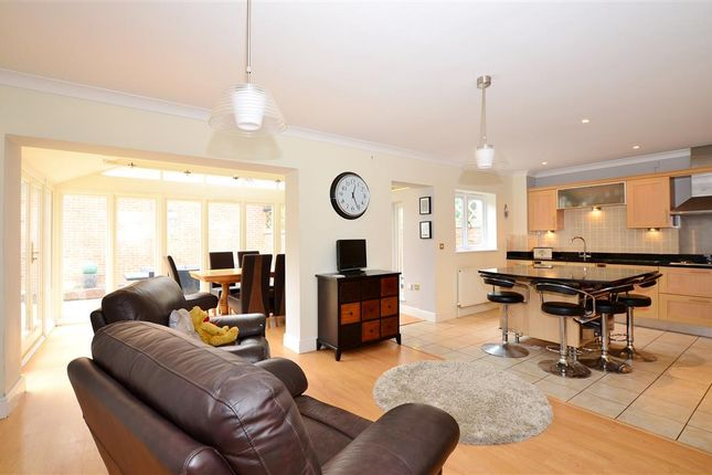 Thumbnail Semi-detached house for sale in Hollandbury Park, Kings Hill, West Malling, Kent