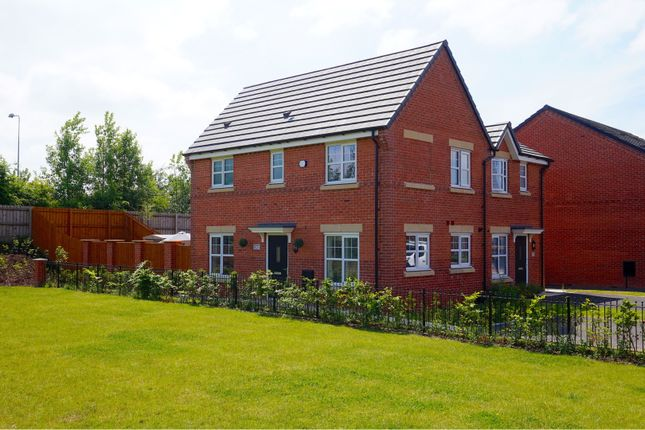 Thumbnail Semi-detached house for sale in Waterhouses Street, Manchester