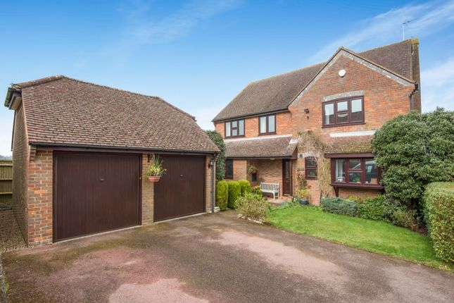 Thumbnail Detached house for sale in Grange Road, Hazlemere, High Wycombe